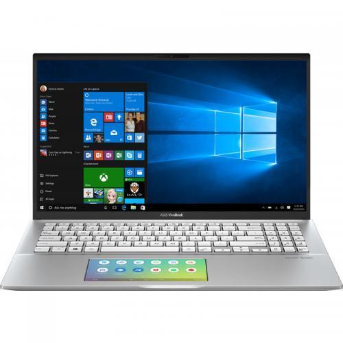 Laptop ASUS VivoBook S15 S532FA-BQ007R, Intel Core i7-8565U, 15.6inch, RAM 16GB, SSD 512GB, Intel UHD Graphics 620, Windows 10 Pro, Transparent Silver