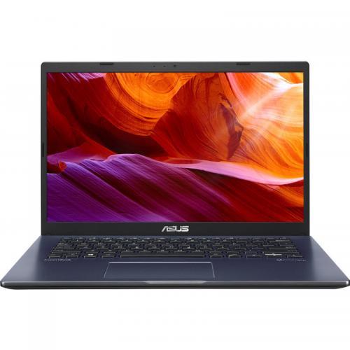 Laptop ASUS ExpertBook P1 P1410CJA-EK345, Intel Core i3-1005G1, 14inch, RAM 8GB, SSD 256GB, Intel UHD Graphics, Endless OS, Bespoke Black