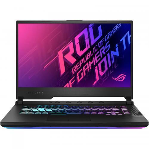 Laptop ASUS ROG Strix G15 G512LU-AL001, Intel Core i7-10750H, 15.6inch, RAM 8GB, SSD 512GB, nVidia GeForce GTX 1660Ti 6GB, No OS, Black