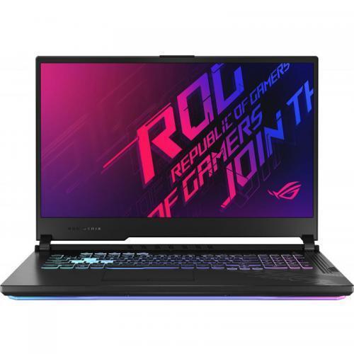 Laptop ASUS ROG Strix G17 G712LU-H7015, Intel Core i7-10750H, 17.3inch, RAM 16GB, SSD 512GB, nVidia GeForce GTX 1660Ti 6GB, Windows 10, Black