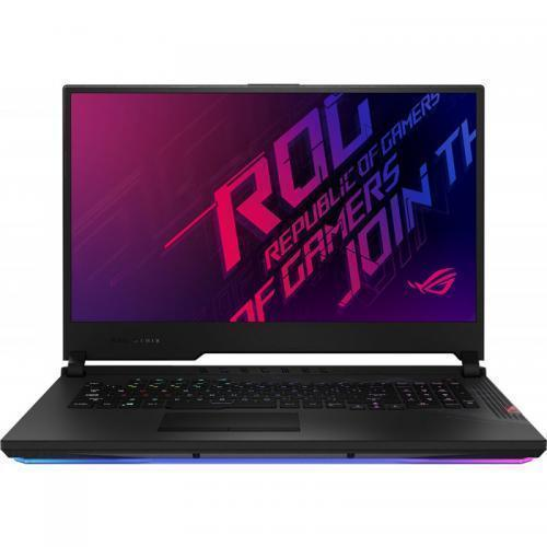 Laptop ASUS ROG Strix SCAR 17 G732LXS-HG048, Intel Core i7-10875H, 17.3inch, RAM 16GB, SSD 2x 512GB, nVidia GeForce RTX 2080 SUPER 8GB, No OS, Black