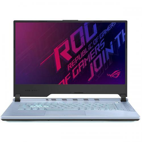 Laptop ASUS ROG Strix Scar III G531GW-AL251, Intel Core i7-9750H, 15.6inch, RAM 16GB, SSD 512GB, nVidia GeForce RTX 2070 8GB, No OS, Glacier Blue