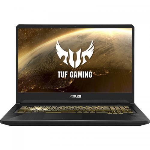 Laptop ASUS TUF Gaming FX705DT-AU027, AMD Ryzen 7 3750H, 17.3inch, RAM 8GB, SSD 512GB, nVidia GeForce GTX 1650 4GB, No OS, Gold Steel