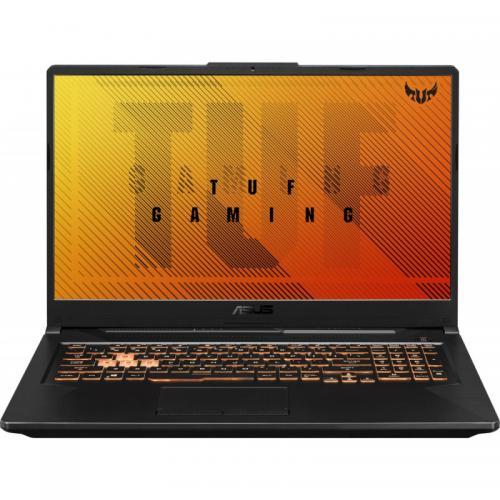Laptop ASUS TUF Gaming F17 FX706LI-H7030, Intel Core i7-10750H, 17.3inch, RAM 8GB, SSD 512GB, nVidia GeForce GTX 1650 Ti 4GB, No OS, Bonfire Black