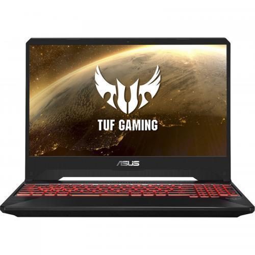 Laptop ASUS TUF Gaming FX505DT-BQ121, AMD Ryzen 7 3750H, 15.6inch, RAM 16GB, SSD 512GB, nVidia GeForce GTX 1650 4GB, No OS, Stealth Black