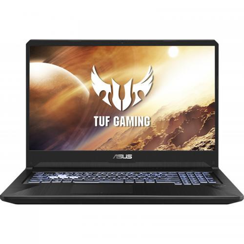 Laptop ASUS TUF Gaming FX705DT-AU042, AMD Ryzen 5 3550H, 17.3inch, RAM 8GB, SSD 512GB, nVidia GeForce GTX 1650 4GB, No OS, Black