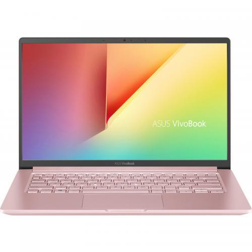 Laptop ASUS VivoBook 14 X403JA-BM015, Intel Core i5-1035G1, 14inch, RAM 8GB, SSD 512GB + 32GB Intel Optane, Intel UHD Graphics, Endless OS, Petal Pink