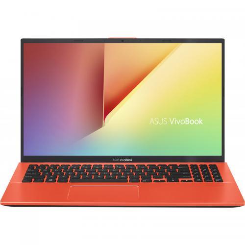 Laptop ASUS VivoBook 15 X512FA-EJ1222, Intel Core i3-8145U, 15.6inch, RAM 4GB, SSD 256GB, Intel UHD Graphics 620, No OS, Coral Crush
