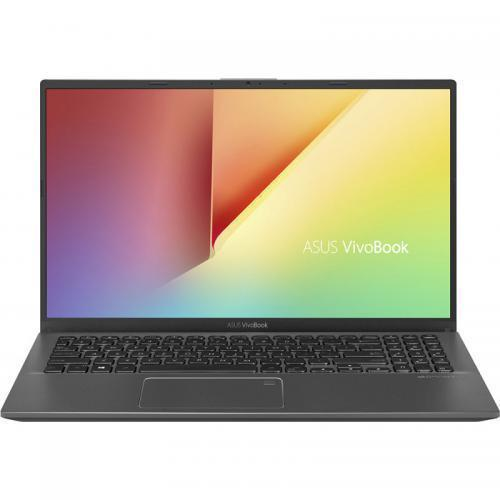 Laptop ASUS VivoBook 15 X512FL-EJ393, Intel Core i5-8265U, 15.6inch, RAM 8GB, SSD 256GB, nVidia GeForce MX250 2GB, No OS, Slate Gray
