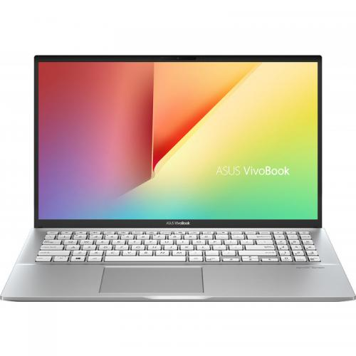 Laptop ASUS VivoBook S15 S531FA-BQ032, Intel Core i5-8265U, 15.6inch, RAM 8GB, SSD 512GB, Intel UHD Graphics 620, No OS, Transparent Silver