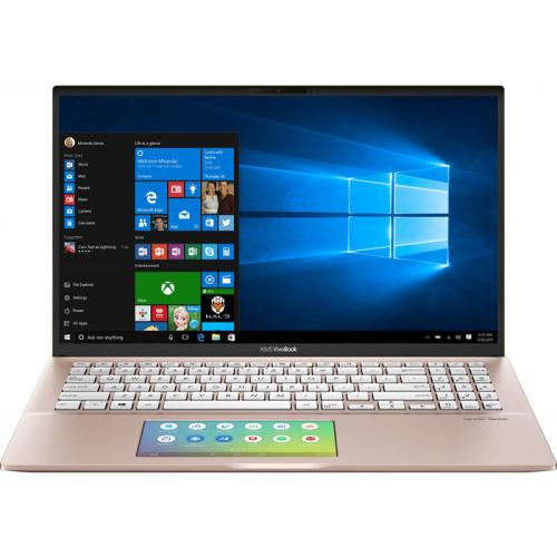 Laptop ASUS VivoBook S15 S532FA-BQ083R, Intel Core i7-8565U, 15.6inch, RAM 16GB, SSD 512GB, Intel UHD Graphics 620, Windows 10 Pro, Punk Pink