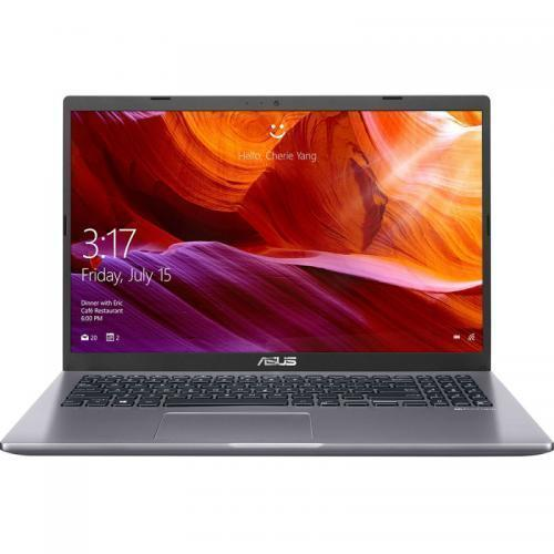Laptop ASUS X509FA-EJ078R, Intel Core i5-8265U, 15.6inch, RAM 8GB, SSD 512GB, Intel UHD Graphics 620, Windows 10 Pro, Slate Grey