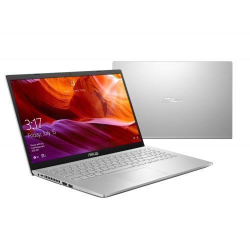Laptop ASUS X509FA-EJ251, Intel Core i3-8145U, 15.6inch, RAM 4GB, HDD 1TB, Intel UHD Graphics 620, Endless OS, Transparent Silver