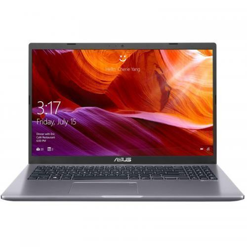 Laptop ASUS X509FL-EJ312, Intel Core i5-8265U, 15.6inch, RAM 8GB, SSD 256GB, nVidia GeForce MX250 2GB, Endless OS, Slate Gray