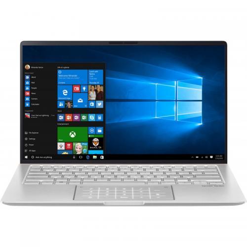 Laptop ASUS ZenBook 14 UM433DA-A5018T, AMD Ryzen 7 3700U, 14inch, RAM 16GB, SSD 1TB, AMD Radeon RX Vega 10, Windows 10, Icicle Silver