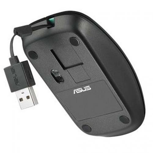 Mouse Optic ASUS UT300, USB, Matte Black-Blue
