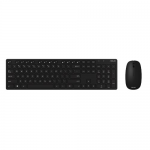 Kit wireless Tastatura Asus W5000, USB, Black + Mouse optic, USB, Black