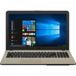 Laptop ASUS X540MA-GO760T, Intel Celeron Dual Core N4000, 15.6inch, RAM 4GB, HDD 500GB, Intel UHD Graphics 600, Windows 10, Chocolate Black