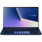 Laptop ASUS ZenBook 13 UX334FLC-A3108R, Intel Core i5-10210U, 13.3inch, RAM 8GB, SSD 512GB, nVidia GeForce MX250 2GB, Windows 10 Pro, Royal Blue