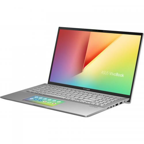 Laptop ASUS VivoBook S15 S532FA-BQ007R, Intel Core i7-8565U, 15.6inch, RAM 16GB, SSD 512GB, Intel UHD Graphics 620, Windows 10 Pro, Transparent Silver