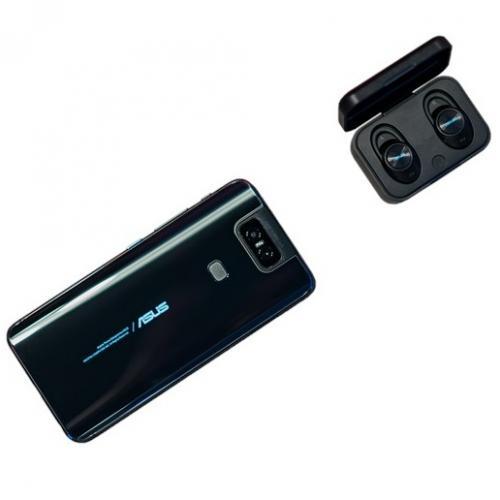 Casti Bluetooth ASUS ZenEar BT, Black