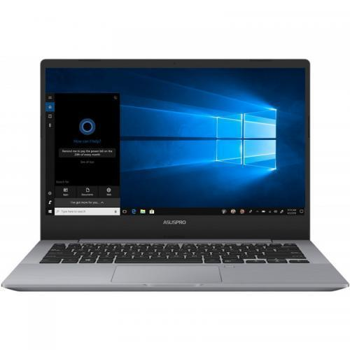 Laptop ASUS AsusPRO P5440FA-BM1314R, Intel Core i7-8565U, 14inch, RAM 16GB, HDD 1TB + SSD 512GB, Intel UHD Graphics 620, Windows 10 Pro, Grey