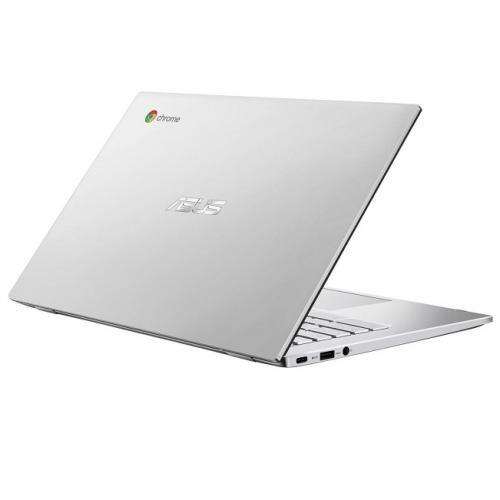 Laptop ASUS ChromeBook 14 C425TA-AJ0188, Intel Core M3-8100Y, 14inch Touch, RAM 4GB, eMMC 64GB, Intel UHD Graphics 615, Chrome OS, Silver