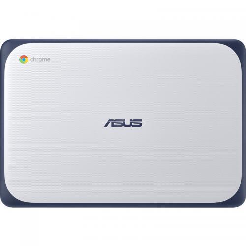 Laptop ASUS Chromebook C202XA-GJ0062, MediaTek 8173C, 11.6inch, RAM 4GB, eMMC 32GB, IMG PowerVR GX6250, Chrome OS, Blue