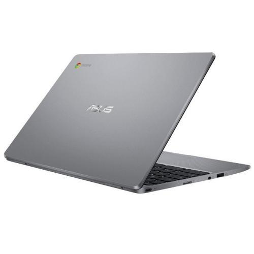 Laptop ASUS ChromeBook C223NA-GJ0071, Intel Celeron Dual Core N3550, 11.6inch, RAM 4GB, eMMC 32GB, Intel HD Graphics 500, Chrome OS, Grey