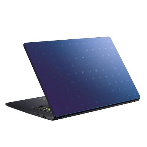 Laptop ASUS E410MA-EB268, Intel Celeron Dual Core N4020, 14inch, RAM 4GB, SSD 256GB, Intel UHD Graphics 600, No OS, Peacock Blue