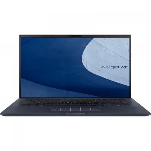Laptop ASUS ExpertBook B9450FA-BM0965, Intel Core i7-10510U, 14inch, RAM 16GB, SSD 1TB, Intel UHD Graphics 620, No OS, Star Black