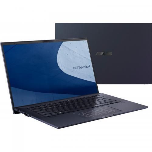 Laptop ASUS ExpertBook B9450FA-BM0994R, Intel Core i7-10610U, 14inch, RAM 16GB, SSD 1TB, Intel UHD Graphics, Windows 10 Pro, Star Black