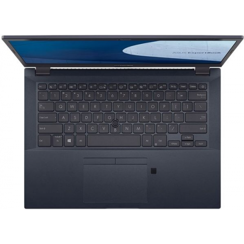 Laptop ASUS ExpertBook P2451FA-EB0235, Intel Core i3-10110U, 14inch, RAM 8GB, SSD 256GB, Intel UHD Graphics 620, Endless OS, Star Black