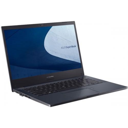 Laptop ASUS ExpertBook P2451FA-EB1339, Intel Core i7-10510U, 14inch, RAM 16GB, SSD 512GB, Intel UHD Graphics 620, Endless OS, Star Black