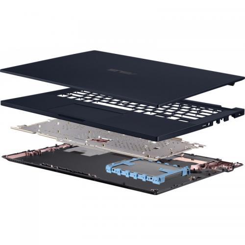 Laptop ASUS ExpertBook P2451FA-EK1098, Intel Core i3-10110U, 14inch, RAM 8GB, SSD 256GB, Intel UHD Graphics, Endless OS, Star Black