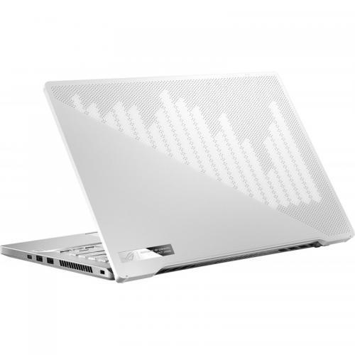 Laptop ASUS Gaming ROG Zephyrus G14 GA401IU-HE094R, AMD Ryzen 7 4800HS, 14inch, RAM 16GB, SSD 512GB, nVidia GeForce GTX 1660 Ti 6GB, Windows 10 Pro, White AniMe Matrix