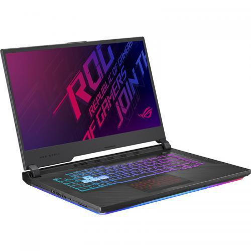 Laptop ASUS ROG Strix SCAR III G531GU-AL061, Intel Core i7-9750H, 15.6inch, RAM 16GB, SSD 512GB, nVidia GeForce GTX 1660 Ti 6GB, No OS, Black
