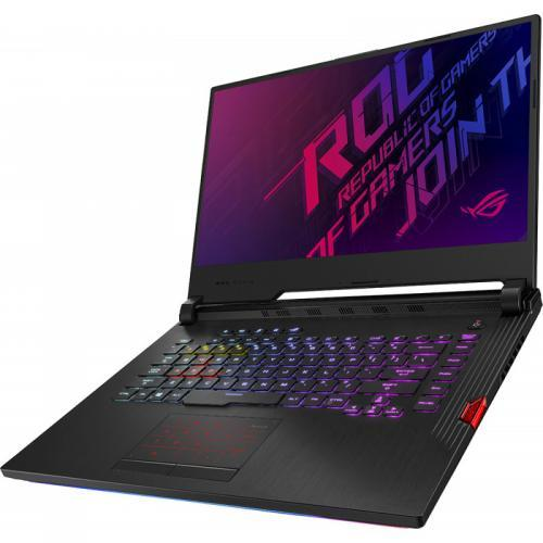 Laptop ASUS ROG Strix G G531GV-ES001, Intel Core i7-9750H, 15.6inch, RAM 8GB, SSD 512GB, nVidia GeForce RTX 2060 6GB, No OS, Black