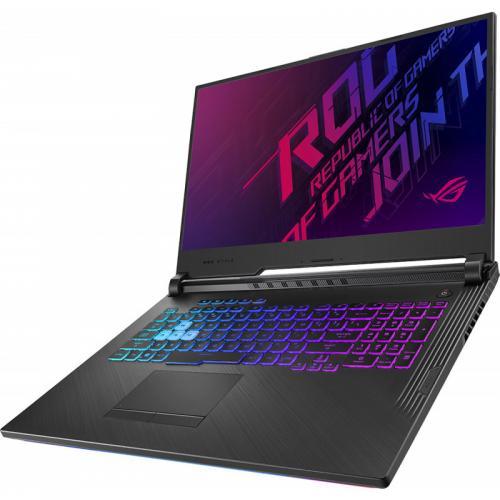 Laptop Asus ROG Strix G G731GT-AU004, Intel Core i7-9750H, 17.3inch, RAM 8GB, SSD 512GB, nVidia GeForce GTX 1650 4GB, No OS, Black