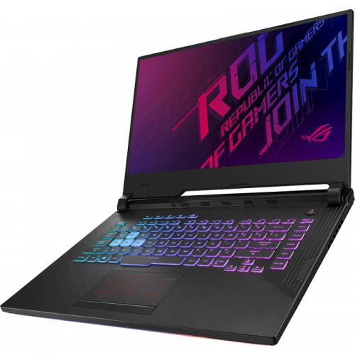 Laptop ASUS ROG Strix G G531GT-AL004, Intel Core i7-9750H, 15.6inch, RAM 8GB, SSD 512GB, nVidia GeForce GTX 1650 4GB, No OS, Black