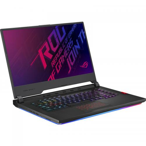 Laptop ASUS ROG Strix HERO III G531GU-ES002, Intel Core i7-9750H, 15.6inch, RAM 8GB, SSD 512GB, nVidia GeForce GTX 1660 Ti 6GB, No OS, Black