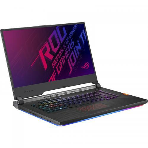 Laptop ASUS ROG Strix G G531GU-ES098, Intel Core i7-9750H, 15.6inch, RAM 16GB, SSD 512GB, nVidia GeForce GTX 1660 Ti 6GB, No OS, Black
