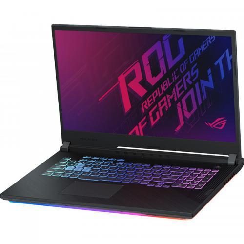 Laptop ASUS ROG Strix G G731GU-EV011, Intel Core i7-9750H, 17.3inch, RAM 8GB, SSH 1TB + SSD 256GB, nVidia GeForce GTX 1660 Ti 6GB, No OS, Black