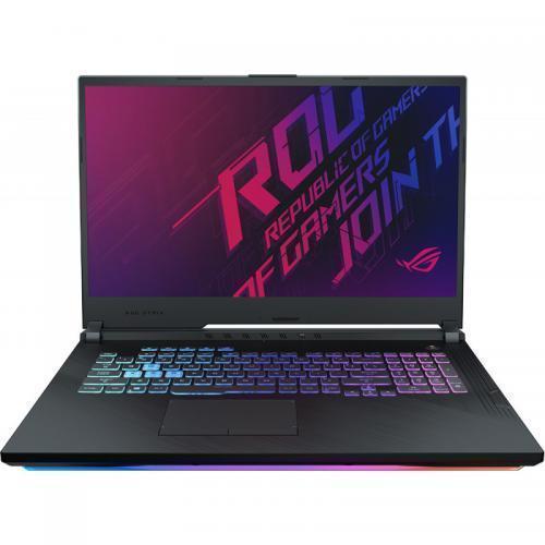 Laptop ASUS ROG Strix G G731GU-H7158, Intel Core i7-9750H, 17.3inch, RAM 8GB, SSD 512GB, nVidia GeForce GTX 1660 Ti 6GB, No OS, Black
