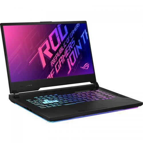 Laptop ASUS ROG Strix G15 G512LI-AL034, Intel Core i5-10300H, 15.6inch, RAM 8GB, SSD 256GB, nVidia GeForce GTX 1650 Ti 4GB, No OS, Black