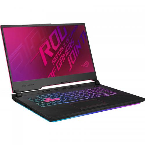 Laptop ASUS ROG Strix G15 G512LU-AZ124, Intel Core i7-10750H, 15.6inch, RAM 16GB, SSD 512GB, nVidia GeForce GTX 1660Ti 6GB, No OS, Electro Punk