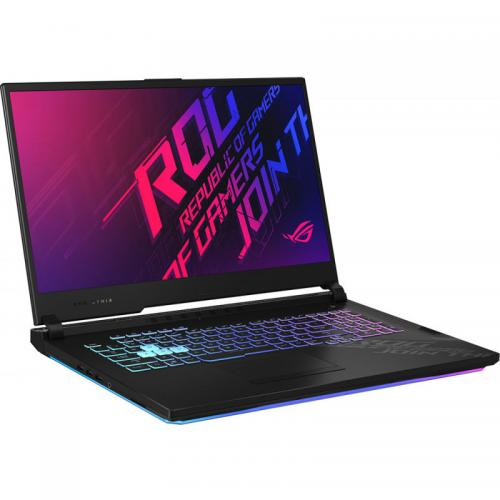 Laptop ASUS ROG Strix G17 G712LV-EV023, Intel Core i7-10750H, 17.3inch, RAM 16GB, SSD 512GB, nVidia GeForce RTX 2060 6GB, No Os, Black