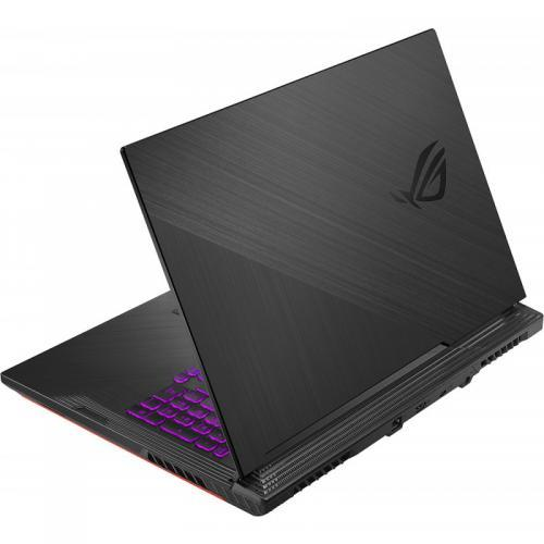 Laptop ASUS ROG Strix G G731GV-H7145, Intel Core i7-9750H, 17.3inch, RAM 16GB, SSD 512GB, nVidia GeForce RTX 2060 6GB, No OS, Black