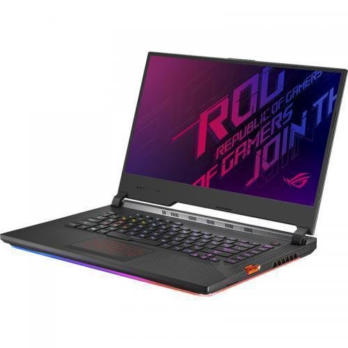 Laptop ASUS ROG Strix Hero III G531GW-AZ288, Intel Core i7-9750H, 15.6inch, RAM 16GB, SSD 512GB, nVidia GeForce RTX 2070 8GB, No OS, Midnight Black