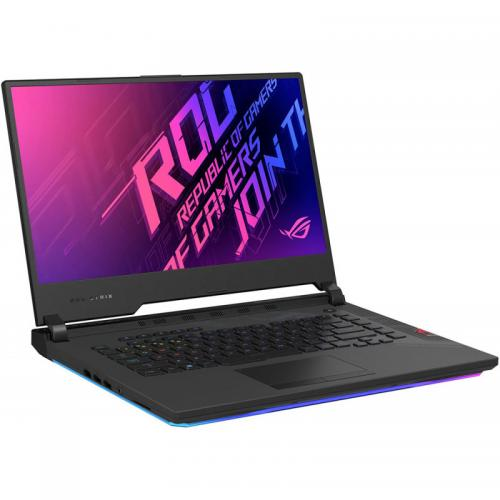 Laptop ASUS ROG Strix SCAR 15 G532LW-AZ092, Intel Core i7-10875H, 15.6inch, RAM 16GB, 2 x SSD 512GB, nVidia GeForce RTX 2070 8GB, No OS, Black